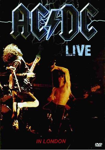 ac dc live in london dvd original