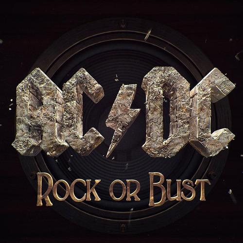 ac dc rock or bust disco cd con 11 canciones