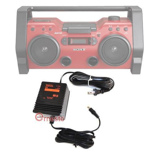 ac-h20cp adaptador sony grabadora zs-h20cp zs-h10cp puebla