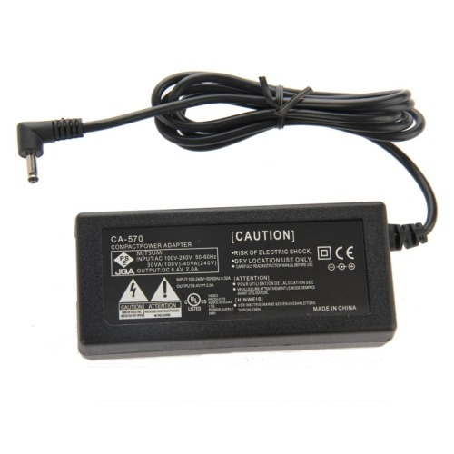 ac power adapter ca- camara para canon fs hf zr hg hr hv