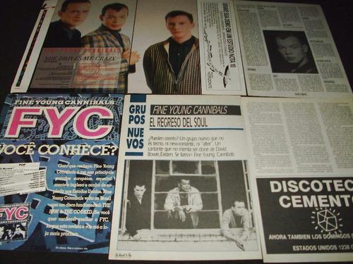 (ac019) fine young cannibals * recortes revistas clippings