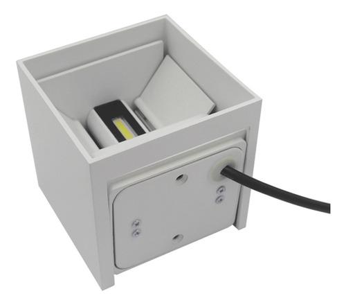 ac85-265v 12w blanco caliente led pared led aluminio ip65