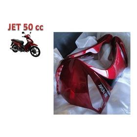 Acabamento Carenagem Frontal Vermelha Jet Shineray