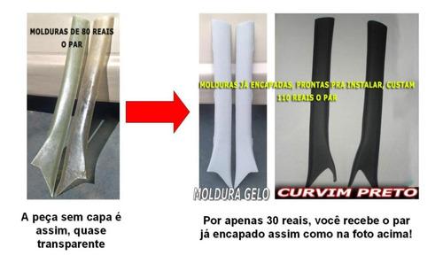 acabamento da coluna omega e suprema - inquebrável em fibra