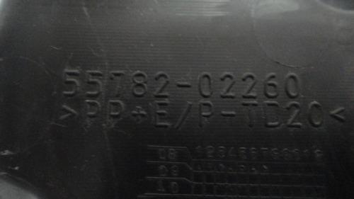 acabamento limpador parabrisa corolla 2008 original toyota