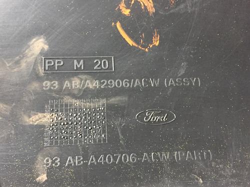 acabamento tampa porta malas escort zetec hatch 93aba40706ac