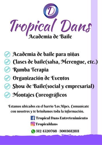 academia de baile - clases de bailes