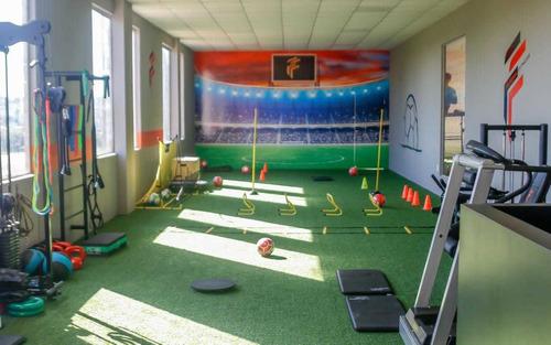 academia de futebol - melhore sua técnica e condicionamento