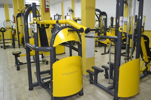 academia musculação completa aparelho óriongym aceito trocas