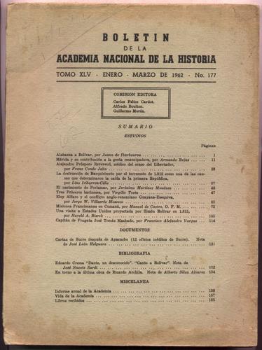 academia nacional de la historia. venezuela 1962. ibarbourou