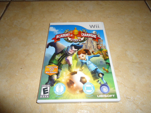 academy of champions soccer nintendo wii +++