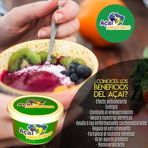 açai amazonas pote x 1 kg zero azucar