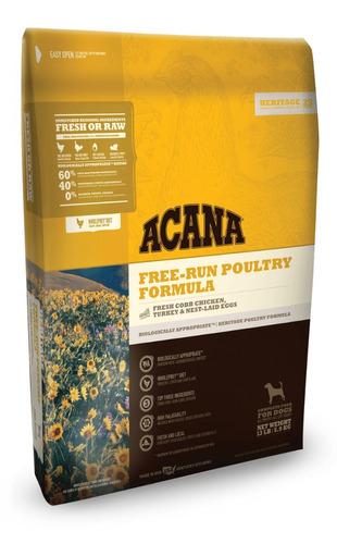 acana free run poultry pollo pavo perros 2.04kg