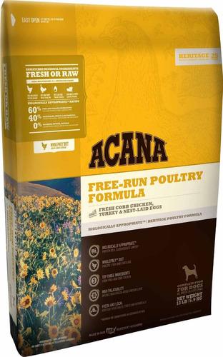 acana free run poultry pollo pavo perros 5.9kg