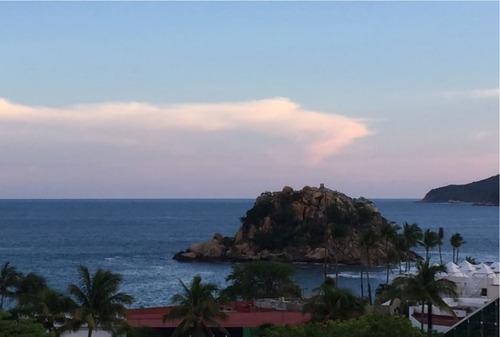 acapulco condesa, recámaras fin semana o año, bien ubicada.