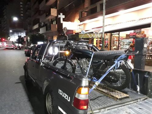 acarreo, flete, transporte, traslado y auxilio de motos
