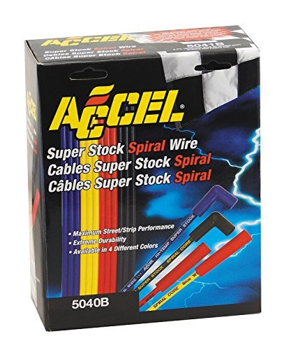 accel 5040b 8mm super stock espiral universal conjunto de