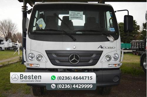 accelo 1016/37 camion 0km financiado anticipo mercedes benz