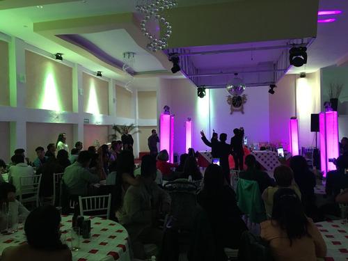 accesible salon de fiestas p/ xv años, boda, bautizos