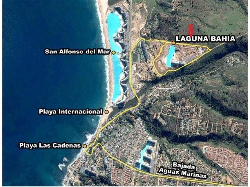 acceso a laguna bahía 712