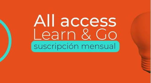 acceso ilimitado por un mes a más de 70 cursos virtuales