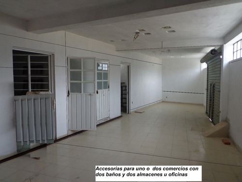 accesorias con oficinas o depto. dos niveles
