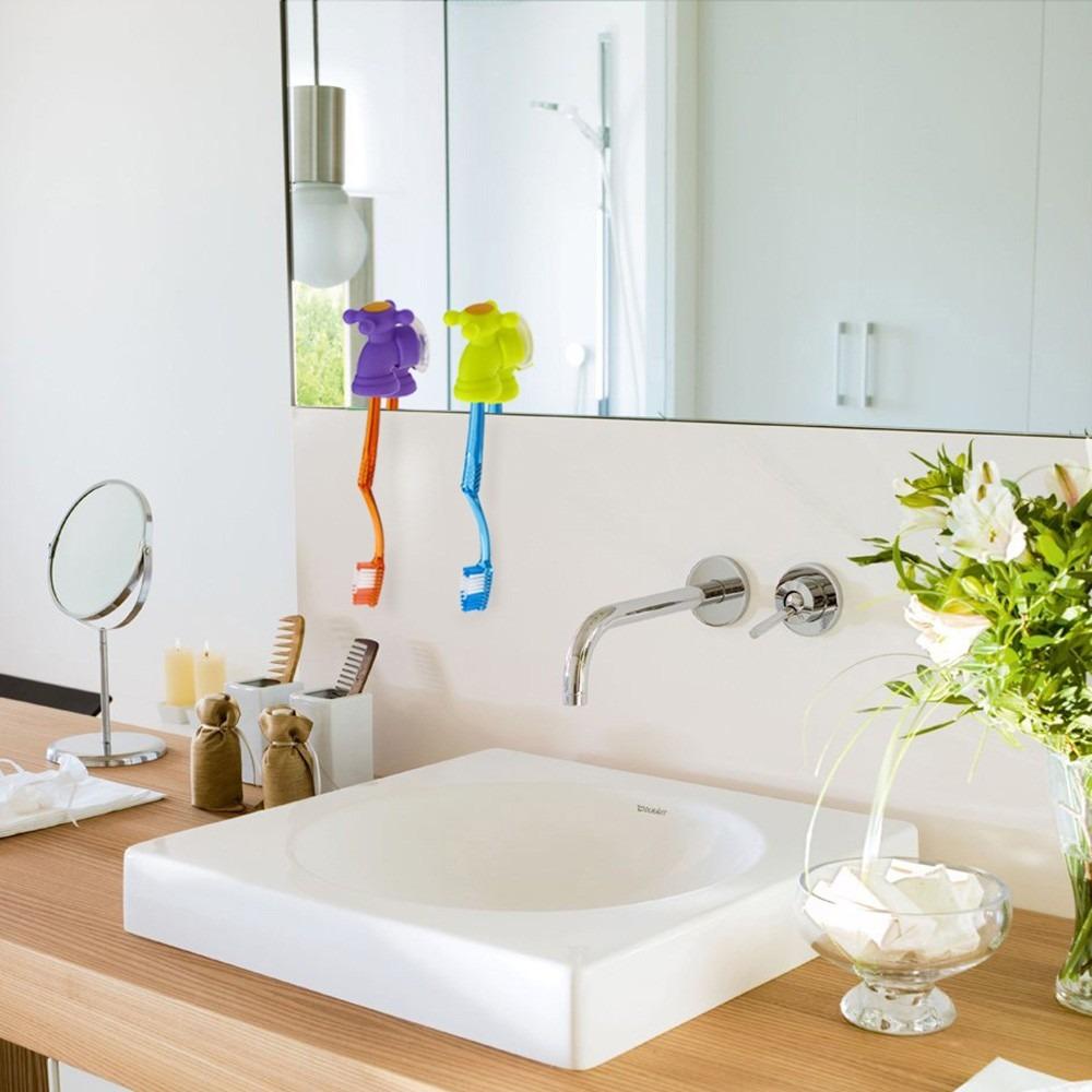 Accesorio Baño | Accesorio Bano Morph Porta Cepillo Diseno Canilla Violeta