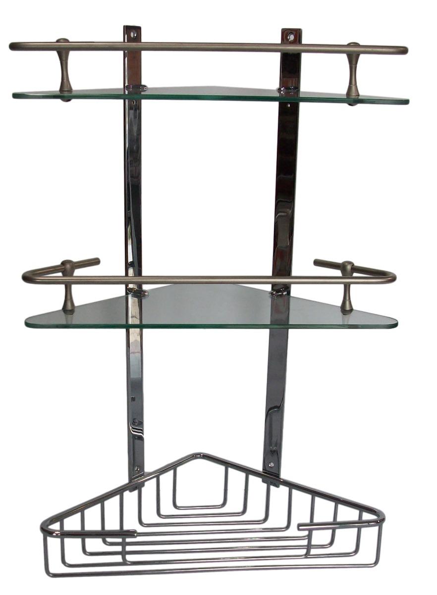 accesorio baño repisa triple esquinero ducha acceco bronce. Cargando zoom. 469071b083b2