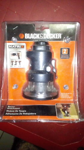 accesorio black & decker router matrix