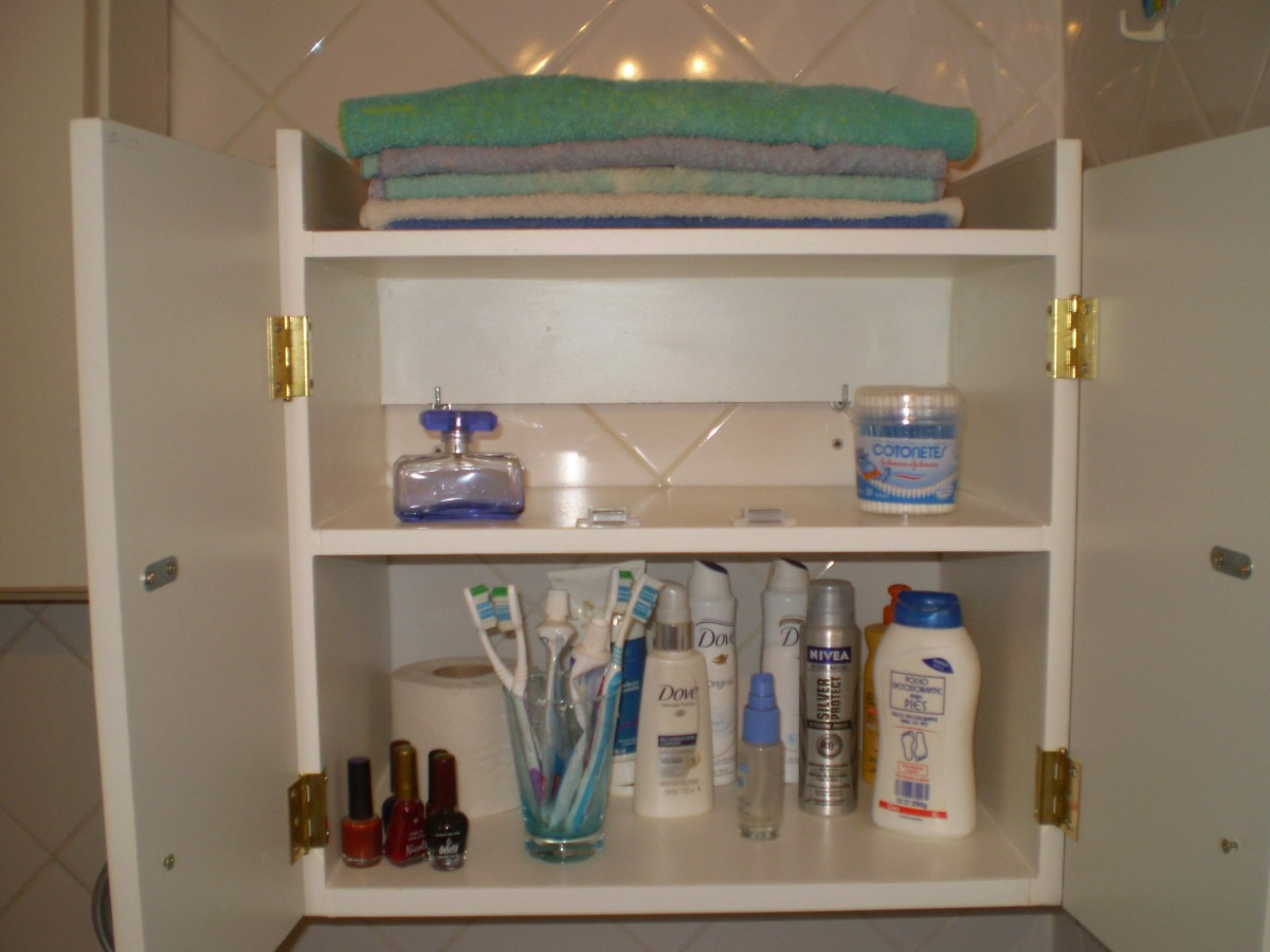 accesorio botiquin vanitory, baño mueble toallero melamina - $ 740 ... - Muebles Toalleros Para Banos