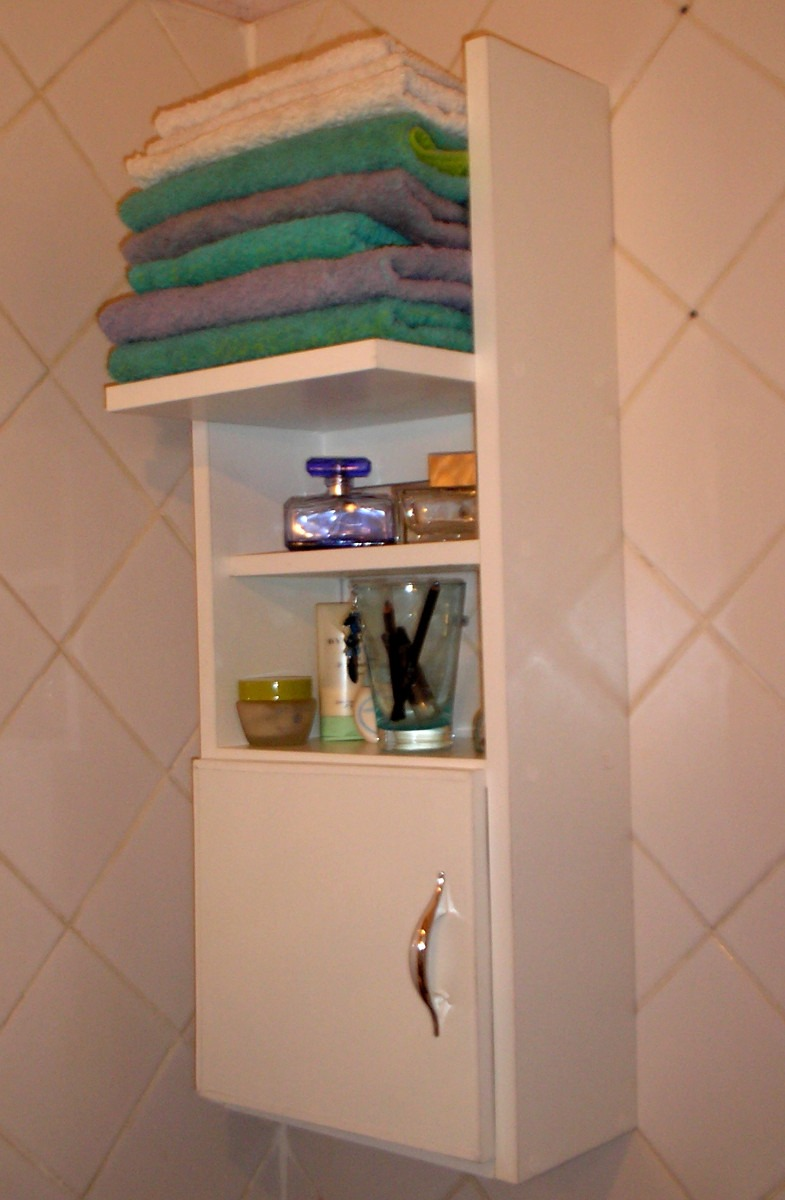 accesorio botiquin vanitory, baño mueble toallero melamina - $ 572 ... - Muebles Toalleros Para Banos