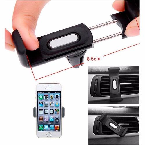accesorio car holde sujetador celular 360 grados ajustable