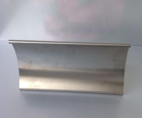 accesorio cocina porta soporte recetas acero protector pagin