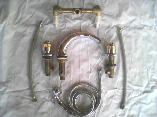 accesorio de bañeras cromo oro