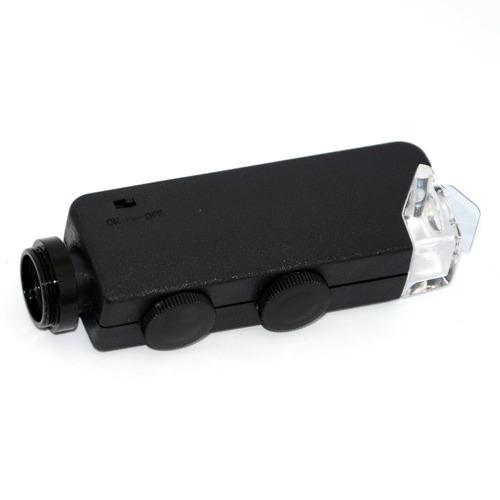 accesorio de lente apexel 100x led microscope jewellery mag