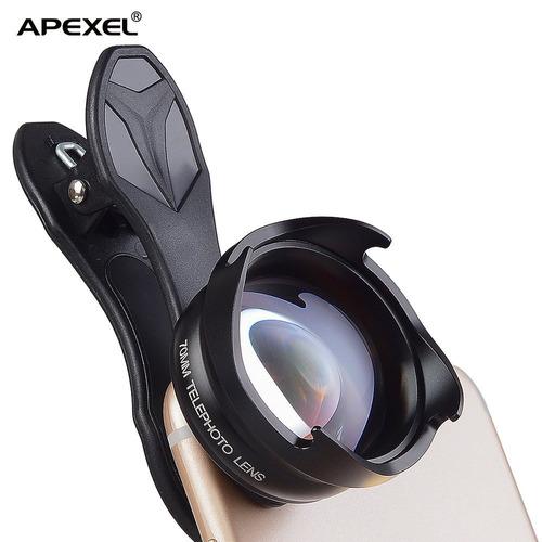 accesorio de lente apexel hd 3x telephoto cell phone c