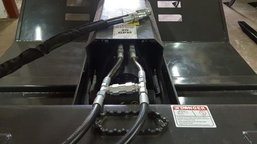 accesorio desmalezadora - desbrozadora para minicargadora