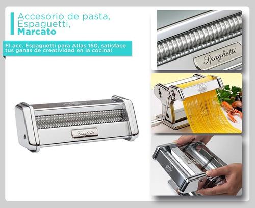 accesorio espagueti máquina de pasta atlas marcato atlas