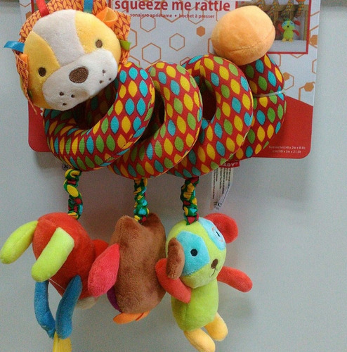 accesorio espiral para cuna animal león o elefante -skk baby