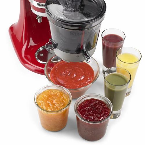 accesorio extractor de jugos slow juicer kitchenaid