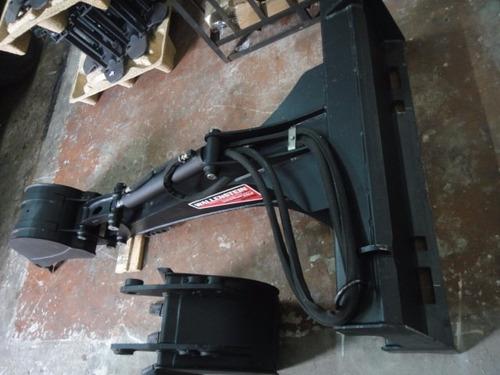 accesorio - implemento brazo retro para minicargadora - usa