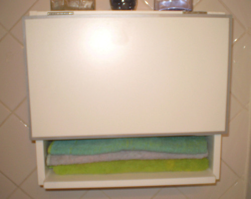 accesorio, mueble baño