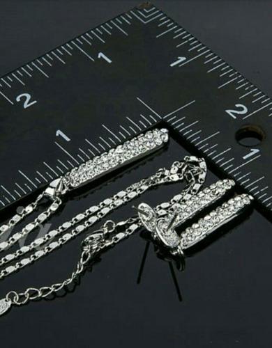 accesorio mujer element swarovski collar  aretes