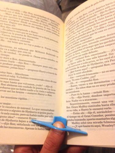 accesorio para lectura cómoda separador