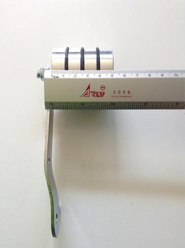 accesorio pedal roller aluminio ancho natural vocho
