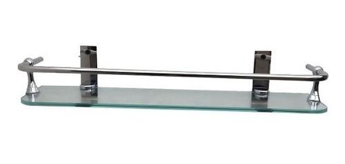 accesorio repisa simple 1 cristal niquel cromo kurymar