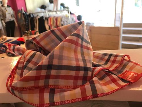 accesorio ropa mascota perro grande xl pañuelo escoces