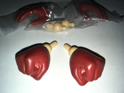 accesorios 1/6 one punch man saitama manos