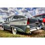 Lámina 45 X 30 Cm - Autos Clásicos Studebaker President 1956