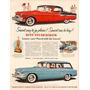 Propaganda Del Auto Studebaker 1955 - Lámina 45 X 30 Cm.